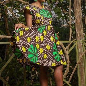 SOLD OUT- African Ankara short dress